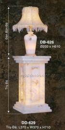 Đèn Bàn Trụ Đá 1