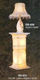 Đèn Bàn Trụ Đá 3