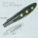 Đèn Pha LED Sân Vườn DDB 150W