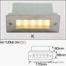 Đèn Âm Cầu Bậc Thang AFC LED 3W Mẫu K