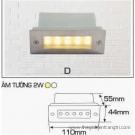 Đèn Âm Tường AFC LED 2W Mẫu D