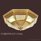Đèn Áp Trần Đồng NLNM002A Ø380
