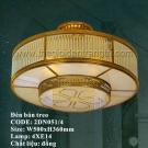 Đèn Trần Đồng Cao Cấp US037 Ø500