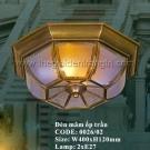 Đèn Áp Trần Đồng US041 Ø400