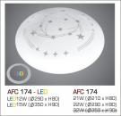 Đèn Áp Trần Led 3 Chế Độ AFC 174 12W Ø290