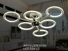 Đèn Áp Trần LED Nghệ Thuật SN6407