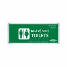 Đèn Chỉ Dẫn Toilets Lưu Điện 0513AG