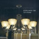 Đèn Chùm Châu Âu NLNC8041-8 Ø900