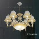 Đèn Chùm Cổ Điển C7250-6 Ø750