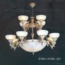 Đèn Chùm Cổ Điển C7514-12 Ø900