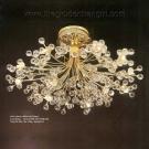 Đèn Chùm Kiểu Ý Mạ Vàng KD208 Ø800