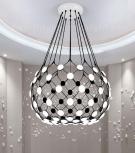 Đèn Chùm LED Nghệ Thuật TBD-F403 Ø900