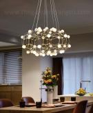 Đèn Chùm LED Nghệ Thuật TBD-F404 Ø800