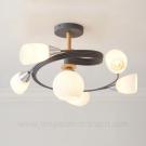 Đèn Chùm Nghệ Thuật LH-THCN227 Ø600