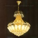 Đèn Chùm Pha Lê CFL-A48 Ø450