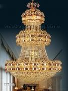 Đèn Chùm Pha Lê Led Thông Tầng VIR276 Ø1000
