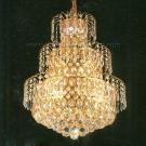 Đèn Chùm Pha Lê Led QN5725 Ø480