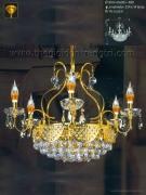 Đèn Chùm Pha Lê Nến NLNC1312 Ø800