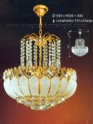 Đèn Chùm Pha Lê NLNC015 Ø500
