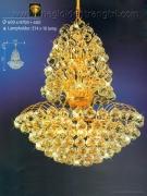 Đèn Chùm Pha Lê NLNC6819 Ø600