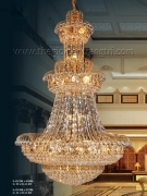 Đèn Chùm Pha Lê Cao Cấp VIR9070 Φ1500