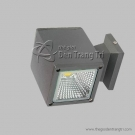 Đèn Hắt Tường LED Vỏ Xám 10W QN7050