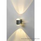 Đèn Hắt Tường Led Màu Vàng Vỏ Xám LK@4.H065