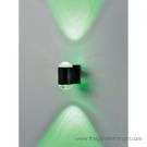 Đèn Hắt Tường LED Xanh Lá Vỏ Đen 6W LK@4.H070