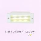 Đèn Led Âm Bậc Cầu Thang ECN62