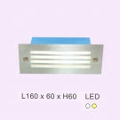 Đèn Led 3W Âm Bậc Cầu Thang ECN56