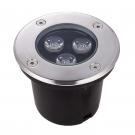 Đèn Âm Đất LED 3W UAS01 Ø100