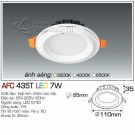 Đèn Led Âm Trần AFC 435B 7W Φ85