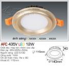 Đèn Led Âm Trần AFC 435V 12W Φ115