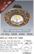 Đèn Led Âm Trần PULY AFC 01 10W
