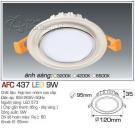Đèn Led Âm Trần AFC 437 9W Φ95