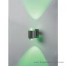 Đèn Hắt Tường LED Xanh Lá Vỏ Xám 6W LK@4.H069
