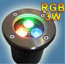 Đèn Âm Đất LED 3W UAS05 Ø100