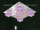 Đèn Mâm Led Vuông NLNC8370 400x400