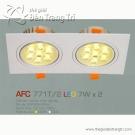 Đèn Mắt Ếch Led AFC 771T-2 7Wx2