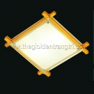 Đèn Ốp Trần Led Vuông Đổi Màu PN77069M Ø400