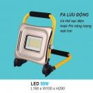 Đèn Pha LED Lưu Động Ngoài Trời 50W UFA22