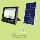 Đèn Pha LED Năng Lượng Mặt Trời 100W UFNL12