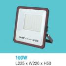 Đèn Pha LED Ngoài Trời 100W UFA16