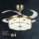 Đèn Quạt Trần Hiện Đại ERA-QD9014 Ø1100