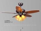Đèn Quạt Trần Cánh Gỗ KH-QT4224 Ø1100