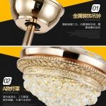 Đèn Quạt Trang Trí Cánh Xếp NA-QT2041 Φ1100