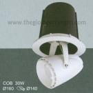 Đèn Spotlight Âm Trần 30W EU-LA235 Ø140