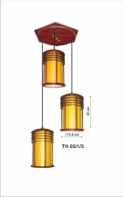 Đèn Thả Da Dê EU-TG513 Ø350