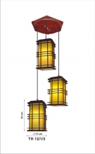 Đèn Thả Da Dê ETG527 Ø350