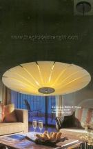 Đèn Thả Nghệ Thuật Lá Gỗ KD418 Ø800
